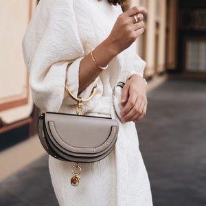 Authentic Chloe Nile Minaudiere bracelet bag